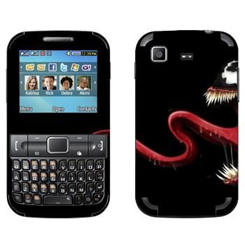 Виниловая наклейка «Веном - Человек-Паук» на телефон Samsung C3222 Duos
