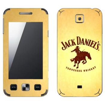 Виниловая наклейка «Jack daniels Родео» на телефон Samsung C6712 Star II Duos