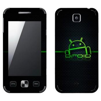 Виниловая наклейка «Дроид Android» на телефон Samsung C6712 Star II Duos