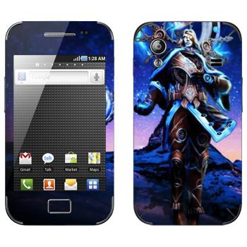 Виниловая наклейка «Chronos : Smite Gods» на телефон Samsung Galaxy Ace