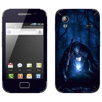 Виниловая наклейка «Dark Souls рыцарь» на телефон Samsung Galaxy Ace