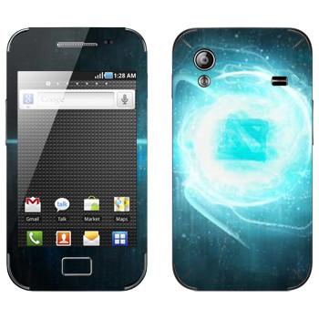 Виниловая наклейка «Dota energy» на телефон Samsung Galaxy Ace