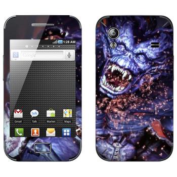 Виниловая наклейка «Dragon Age - Демон» на телефон Samsung Galaxy Ace