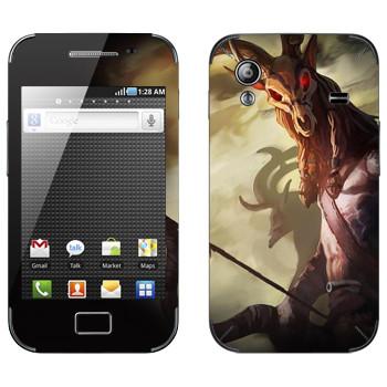 Виниловая наклейка «Drakensang deer» на телефон Samsung Galaxy Ace