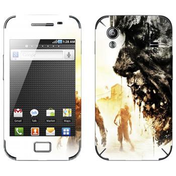 Виниловая наклейка «Dying Light арт» на телефон Samsung Galaxy Ace
