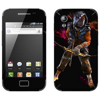 Виниловая наклейка «Far Cry 4 - лучник» на телефон Samsung Galaxy Ace