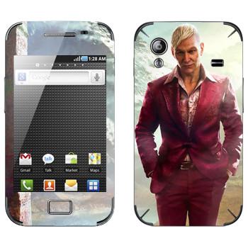 Виниловая наклейка «Far Cry 4 - Пэйган» на телефон Samsung Galaxy Ace