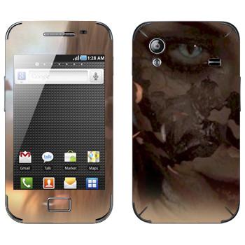 Виниловая наклейка «Neverwinter Flame» на телефон Samsung Galaxy Ace