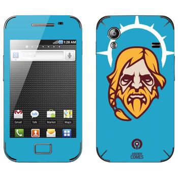 Виниловая наклейка «Одинокий Друид» на телефон Samsung Galaxy Ace