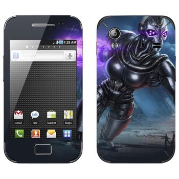 Виниловая наклейка «Shards of war Вокс» на телефон Samsung Galaxy Ace