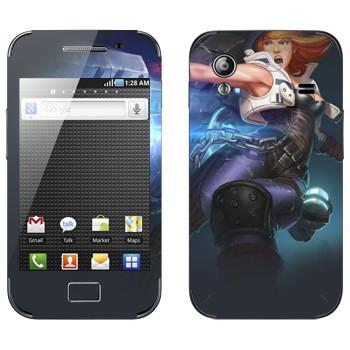 Виниловая наклейка «Shards of war Зель» на телефон Samsung Galaxy Ace