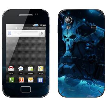 Виниловая наклейка «Star conflict Death» на телефон Samsung Galaxy Ace