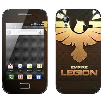 Виниловая наклейка «Star conflict Legion» на телефон Samsung Galaxy Ace