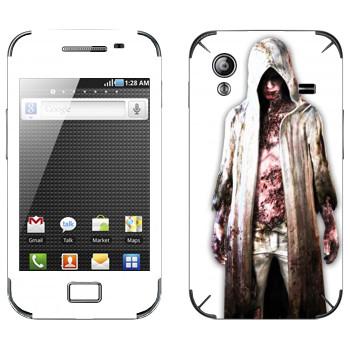 Виниловая наклейка «The Evil Within - Зомби» на телефон Samsung Galaxy Ace