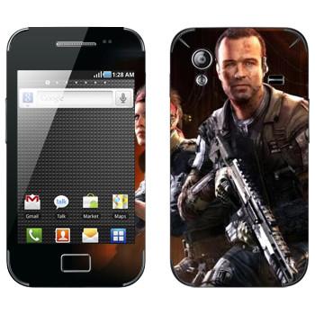 Виниловая наклейка «Titanfall солдаты» на телефон Samsung Galaxy Ace