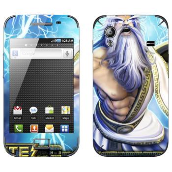 Виниловая наклейка «Zeus : Smite Gods» на телефон Samsung Galaxy Ace