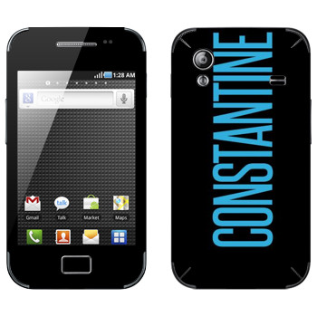 Виниловая наклейка «Constantine» на телефон Samsung Galaxy Ace