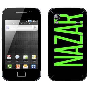 Виниловая наклейка «Nazar» на телефон Samsung Galaxy Ace