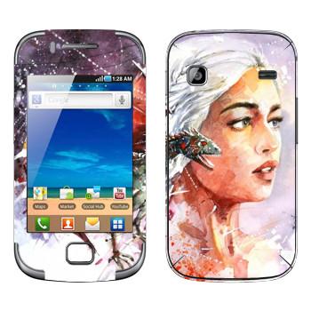 Виниловая наклейка «Дейенерис» на телефон Samsung Galaxy Gio