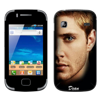 Виниловая наклейка «Дин Винчестер» на телефон Samsung Galaxy Gio
