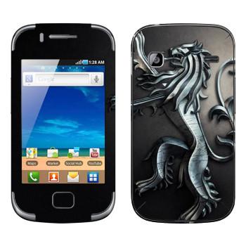 Виниловая наклейка «Игра престолов логотип» на телефон Samsung Galaxy Gio