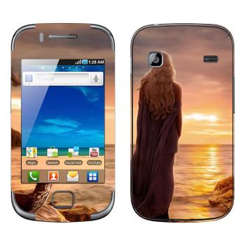 Виниловая наклейка «Королева Дейенерис» на телефон Samsung Galaxy Gio
