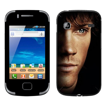 Виниловая наклейка «Сэм Винчестер» на телефон Samsung Galaxy Gio