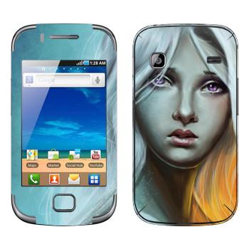 Виниловая наклейка «Таргариен» на телефон Samsung Galaxy Gio