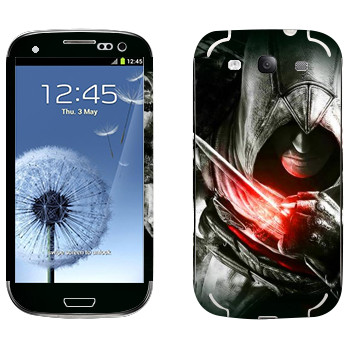 Виниловая наклейка «Assassins» на телефон Samsung Galaxy S3