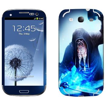 Виниловая наклейка «Dark Souls Кузнец» на телефон Samsung Galaxy S3