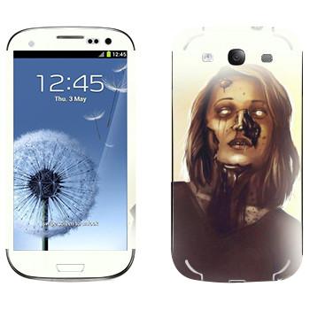Виниловая наклейка «Dying Light - мама зомби» на телефон Samsung Galaxy S3