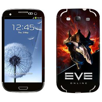 Виниловая наклейка «EVE Левиафан» на телефон Samsung Galaxy S3