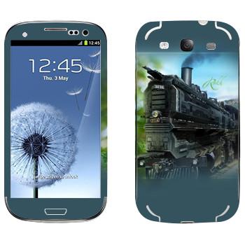 Виниловая наклейка «EVE Rokh» на телефон Samsung Galaxy S3