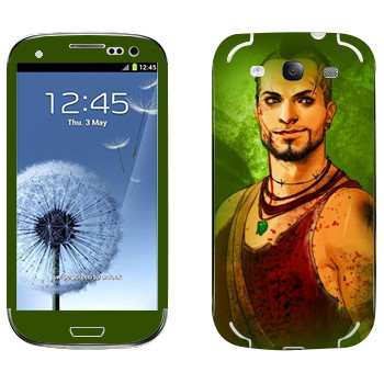 Виниловая наклейка «Far Cry 3 - Вас Монтенегро» на телефон Samsung Galaxy S3