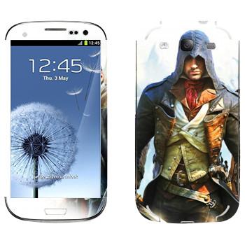 Виниловая наклейка «Герои компьютерных игр» на телефон Samsung Galaxy S3
