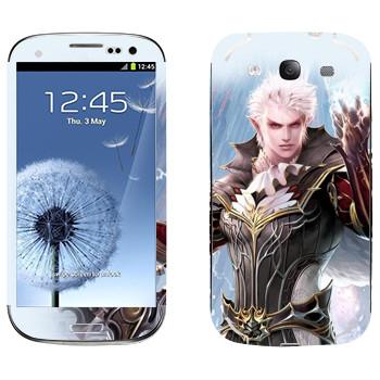 Виниловая наклейка «Lineage Elf warrior» на телефон Samsung Galaxy S3