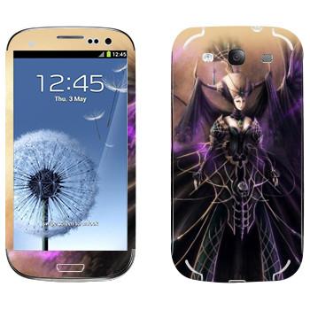 Виниловая наклейка «Lineage queen» на телефон Samsung Galaxy S3