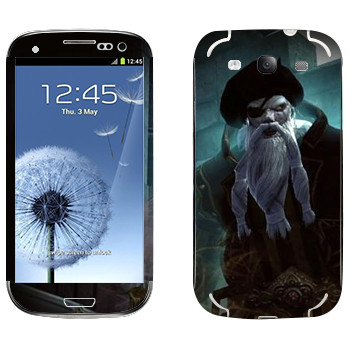 Виниловая наклейка «Neverwinter Бородатый» на телефон Samsung Galaxy S3