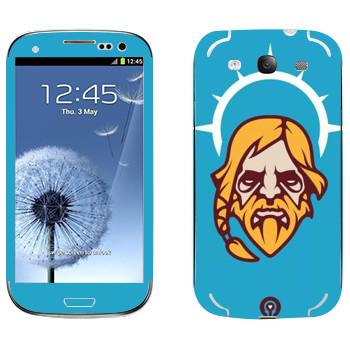Виниловая наклейка «Одинокий Друид» на телефон Samsung Galaxy S3