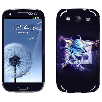 Виниловая наклейка «Puck — детеныш волшебного дракона» на телефон Samsung Galaxy S3