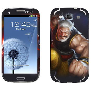 Виниловая наклейка «Shards of war Ryudo» на телефон Samsung Galaxy S3