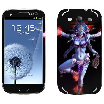 Виниловая наклейка «Shiva : Smite Gods» на телефон Samsung Galaxy S3
