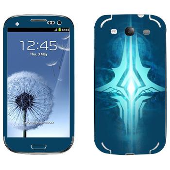 Виниловая наклейка «Tera logo» на телефон Samsung Galaxy S3