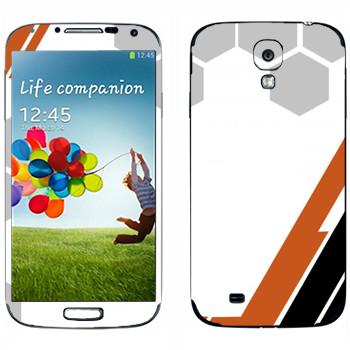 Виниловая наклейка «Игровая абстракция» на телефон Samsung Galaxy S4