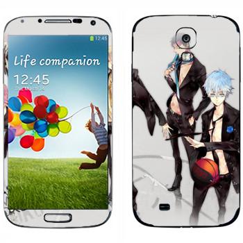 Виниловая наклейка «Баскетбол Куроко» на телефон Samsung Galaxy S4