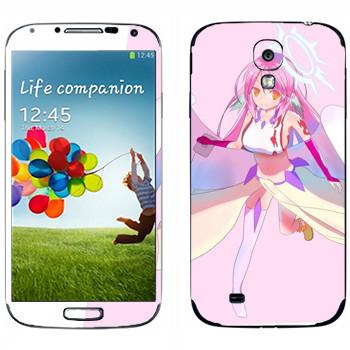 Виниловая наклейка «Джибрил» на телефон Samsung Galaxy S4