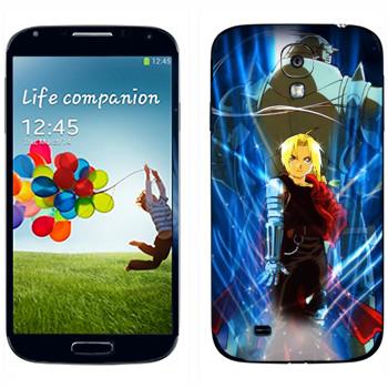 Виниловая наклейка «Элрики» на телефон Samsung Galaxy S4
