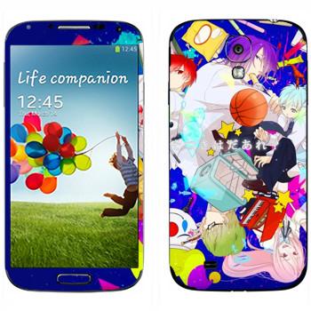 Виниловая наклейка «Куроко no Basket» на телефон Samsung Galaxy S4