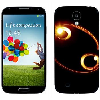 Виниловая наклейка «Знак Рак» на телефон Samsung Galaxy S4