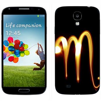 Виниловая наклейка «Знак Скорпион» на телефон Samsung Galaxy S4
